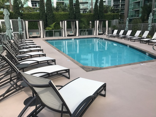 Pool - New Chaise Loungers & Cabanas