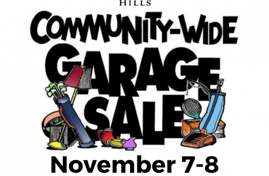 Fall garage sale