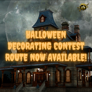Halloween Decorating Route