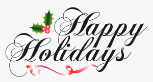 Holiday Office Closing